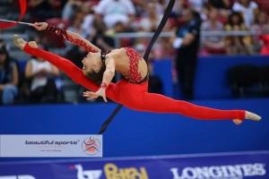 """Українка Нікольченко виграла """"бронзу"""" на чемпіонаті Європи з художньої гімнастики"""