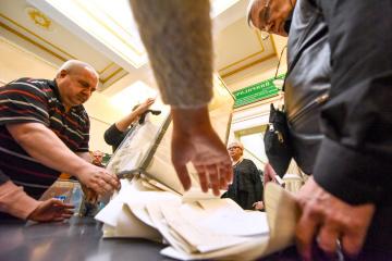 99,88 Prozent der Wahlprotokolle ausgewertet