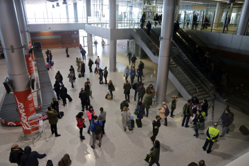 Lviv International Airport sees twofold increase in passenger flow in January-April 2019