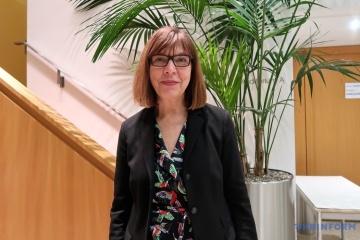 Rebecca Harms, eurodiputada de Los Verdes