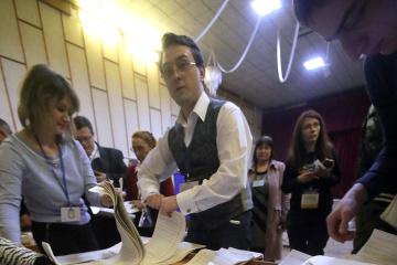 99,95 Prozent der Wahlprotokolle ausgewertet: Selenskyj weiter vorne