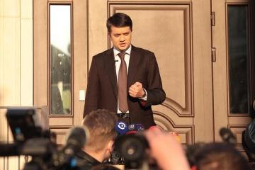 Zelensky tiene intención de disolver el Parlamento