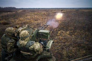 Troitske in Donbas comes under mortar attack in past day