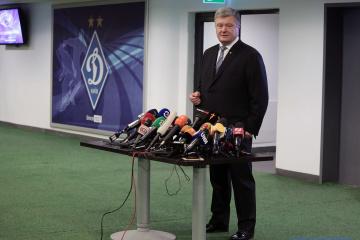 Präsident Poroschenko will VADA-Drogentest machen