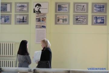 Se inauguró una exposición de las pinturas de Súshchenko en el Ayuntamiento de Kyiv (Fotos)
