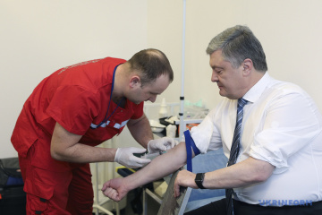 Drogen- und Alkoholtest von Poroschenko: Keine psychoaktiven Substanzen nachgewiesen