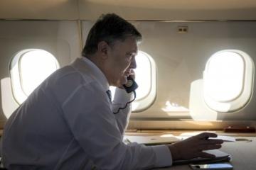 Poroshenko tiene planeadas las visitas internacionales hasta el fin de la campaña electoral