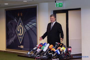 Poroschenko erwartet Selenskyj im Olympiastadion am 14. April um 14:Uhr