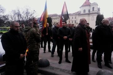 Les habitants de la région de Lviv ont dit adieu au volontaire tué dans le Donbass