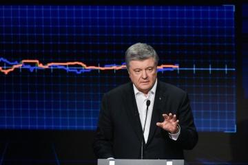 Poroschenko distanziert sich von Business-Partnern bei Berufung ins Amt