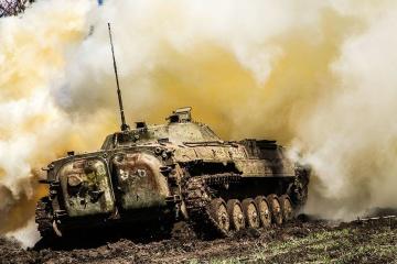Donbass : 24 attaques, un militaire ukrainien tué