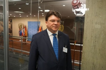 Ukrainian youth minister meets with UN Secretary-General's envoy on youth in New York