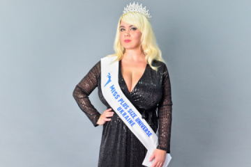 Ucrania por primera vez participa en el concurso Miss Universe Plus Size (Fotos)
