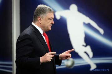 Petro Poroszenko będzie jutro na Stadionie Olimpijskim