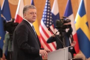 Poroshenko: No alternative to UN peacekeeping mission in Donbas