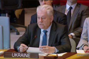 Jelczenko skrytykował Sekretarza Generalnego ONZ za ignorowanie Ukrainy