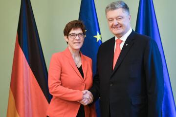 Petro Porochenko s'est rendu en Allemagne pour une visite officielle