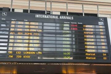 Geneva International Airport starts using 'Kyiv' instead of 'Kiev'