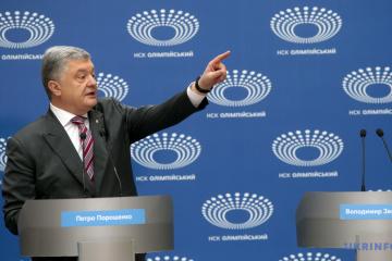 Poroszenko obiecuje zapoczątkować likwidację stanowisk szefów OGA