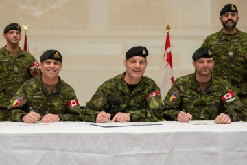 Canada rotates its soldiers in Ukraine within Operation UNIFIER. Photos