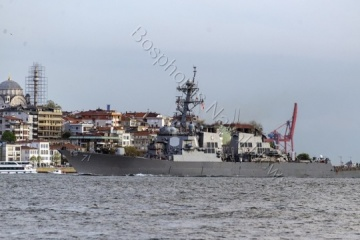 U.S. Navy destroyer enters Black Sea