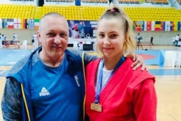 Un Ukrainienne remporte le Championnat d'Europe du sambo