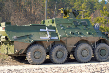 Ukroboronprom creates new command-and-staff vehicle