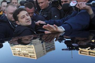 Keine Pressekonferenz von Wolodymyr Selenskyj vor Stichwahl