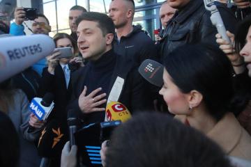 Media-Bewegung ruft Selenskyj zur Pressekonferenz auf