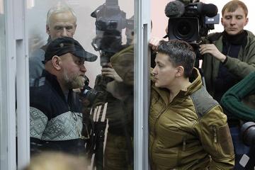Savtchenko et Ruban ont été relâchés dans la salle d'audience