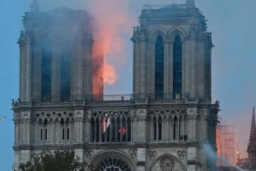 L'Ukraine est prête à aider à la restauration de Notre Dame de Paris