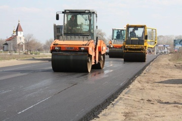 Government to accumulate about UAH 55 bln for road reconstruction in 2019