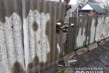Dans la région de Louhansk, les Russes ont tiré sur le quartier résidentiel