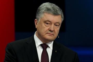 Poroszenko złożył zeznania w Biurze Prokuratora Generalnego w sprawie Majdanu