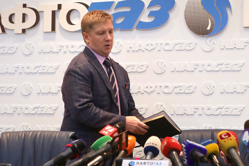Naftogaz CEO Kobolyev: Putin expects personal talks with Zelensky on gas transit