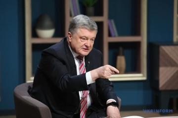 Poroshenko: Powerful army is guarantor of Ukraine's independence