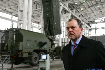 Ukraine getting ready to begin production of Zoopark-3 counter-battery radar. Photos