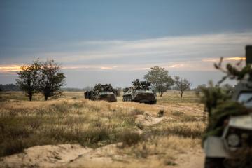 Im Donbass verbotene Mehrfachraketenwerfer, Panzer, Haubitzen und Fla-Raketenkomplexe entdeckt