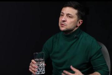 ゼレンシキー候補、テレビ番組で自身のチームを紹介