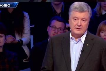ポロシェンコ候補「ゼレンシキー候補は、なぜテロリストを『義勇兵』と呼んだか説明すべき」