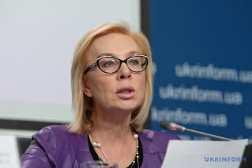 Denisova to oversee issue of eight Ukrainian servicemen detained in occupied Donbas