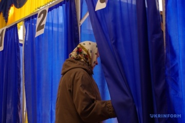 Over 45 percent of voters already voted in Ukraine