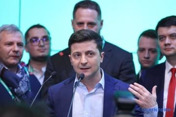 Zelensky agradece a los ucranianos por su apoyo en las elecciones presidenciales