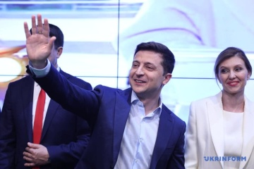 Sondaż National Exit Poll: Zełenski zdobywa 73.2% głosów, Poroszenko – 25.3%