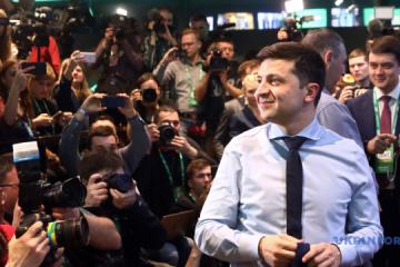 Sondeo a pie de urnas nacional: Zelensky obtiene el 73,2% de los votos, Poroshenko el 25,3%