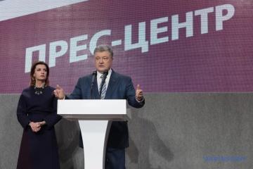 Poroschenko will Selenskyij zum Wahlsieg gratulieren