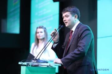 Razumkov: Zelensky puede visitar Polonia en un futuro próximo