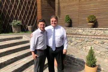 El ministro de Asuntos Exteriores lituano se reúne con Zelensky
