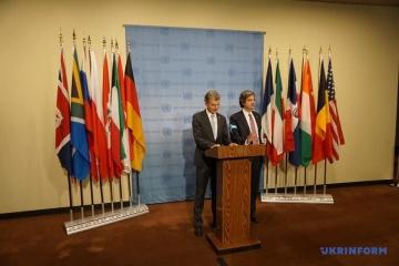 Alemania y Francia han emitido una declaración conjunta tras la reunión del Consejo de Seguridad de la ONU (Fotos)