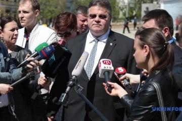 Außenminister Litauens Linkevicius schließt Verschärfung von Russland-Sanktionen nicht aus - Fotos